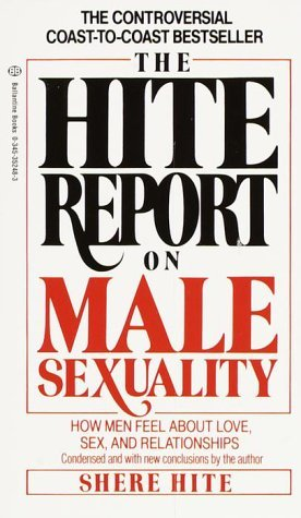 Hite report masturbation have forgotten