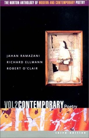 The Norton Anthology of Modern & Contemporary Poetry, Vol 2: Contemporary Poetry