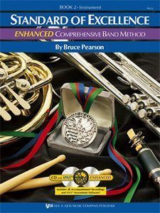 Standard of Excellence Enhanced Bk 2 Oboe (Comprehensive Band Method, Book & Cd Package Book Two)