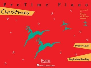 Pretime Piano, Primer Level (Beginning Reading): Christmas