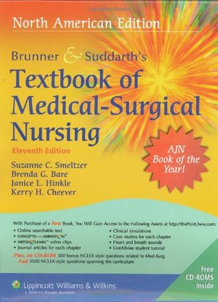 Brunner suddarths textbook of medical surgical nursing 11th 20338186 fandeluxe Image collections