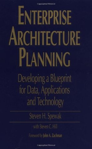 Enterprise architecture planning developing a blueprint for data 223940 malvernweather Gallery