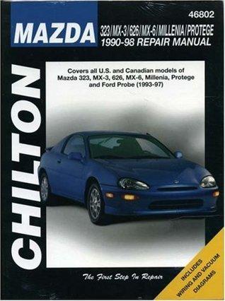 Mazda 323, MX-3, 626, Millenia, and Protege, 1990-98