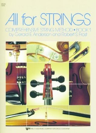 78VN - All For Strings Book 1: Violin by Robert S. Frost