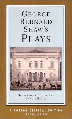 Plays: Mrs Warren's Profession/Man and Superman/Major Barbara/Pygmalion