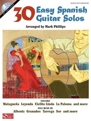 30 Easy Spanish Guitar Solos Bk/online audio