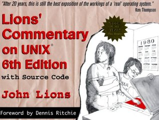 Lions' Commentary on UNIX 6th Edition with Source Code