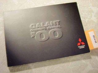 2000 Mitsubishi Galant Owners Manual by Mitsubishi Corporation