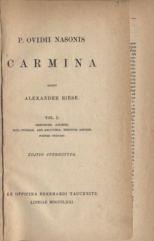 Carmina, vol 1