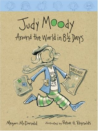 Around the World in 8 1/2 Days by Megan McDonald