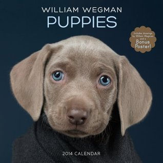 William Wegman Puppies 2014 Wall Calendar