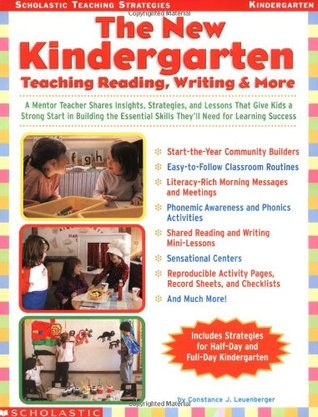 The New Kindergarten: Teaching Reading, Writing  More: A Mentor Teacher Shares Insights, Strategies, and Lessons That Give Kids a Strong Start in Building the Essential Skills They'll Need for Learning Success Descarga gratuita de Ebook iPad