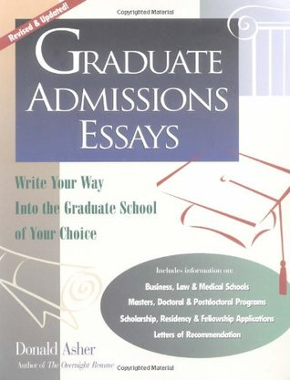 graduate admissions essays write your way into the graduate  107545