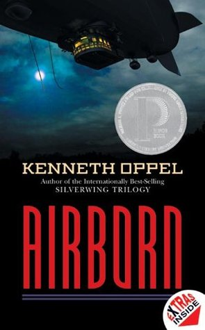 Image result for airborn by kenneth oppel cover