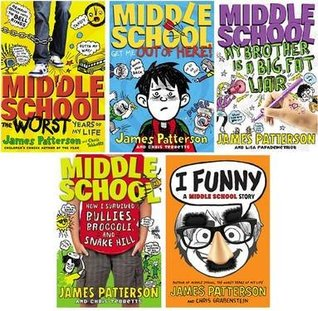I Funny Middle School Series 5 Book Set By James Patterson