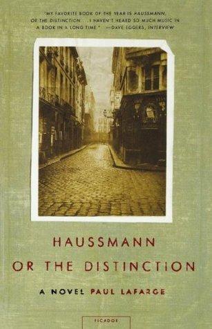 Haussmann, or the Distinction