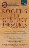 Roget's 21st Century Thesaurus (21st Century Reference)