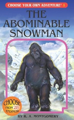 The Abominable Snowman by R.A. Montgomery