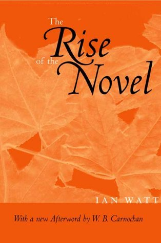 The Rise of the Novel, Updated Edition