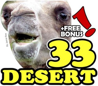 The 33 Desert Animals: A Kids' Learn to Read Animal Picture Book with Large Photos (Free Bonus: 30+ Free Online Kids' Jigsaw Puzzle Games!)
