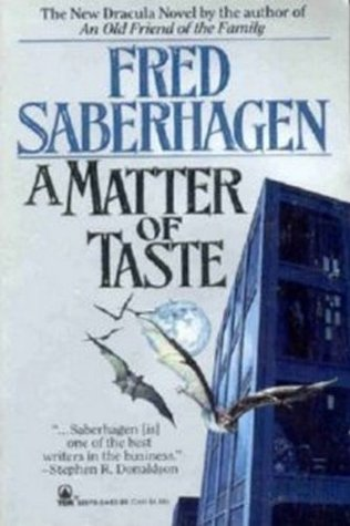 A Matter of Taste by Fred Saberhagen
