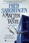 A Matter of Taste (Dracula Series, #6)