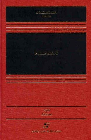 Property (Aspen Casebooks)