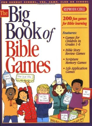 big book of bible games 1 reproducible book games for ages 6 12