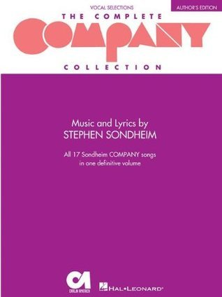 Company (Vocal Selections): Author's Edition