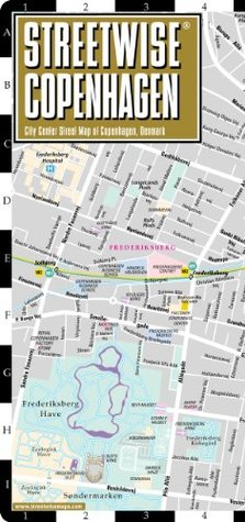 Streetwise Chicago Map.Streetwise Copenhagen Map Laminated City Center Street Map Of