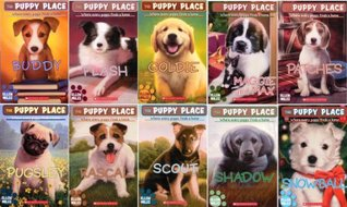 The Puppy Place Library 10 Book Set Goldie Snowball Shadow