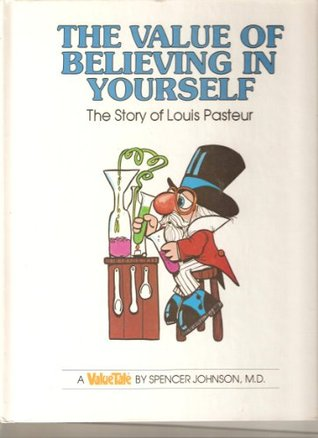 Image of cartoon-drawn Louis Pasteur on Value Tales book series