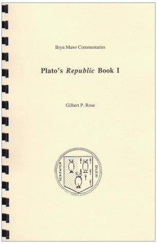 Plato's Republic: Book I