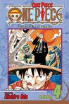 One Piece, Volume 04: The Black Cat Pirates (One Piece, #4)