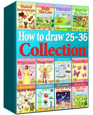 Drawing Books - How to Draw Comics Collection 25-36 (Over 330 Pages) (How to Draw Anime Collcetions) (How to Draw Collection)