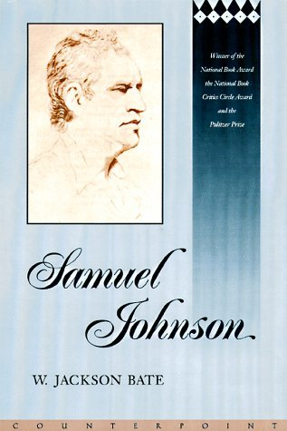 Samuel Johnson by Walter Jackson Bate