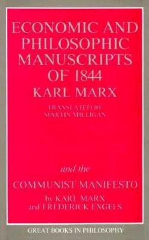 Economic & Philosophic Manuscripts of 1844/The Communist Manifesto