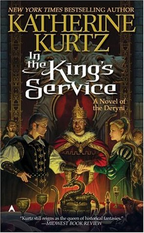 book cover: In the King's Service, a Deryni novel by Katherine Kurtz