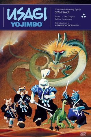 Usagi Yojimbo, Vol. 4: The Dragon Bellow Conspiracy (Usagi Yojimbo, #4)
