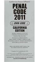 2011 Penal - Qwik Code California