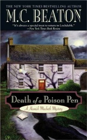 Death of a Poison Pen (Hamish Macbeth, #19)