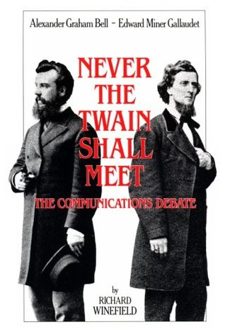 Never the Twain Shall Meet by Richard Winefield