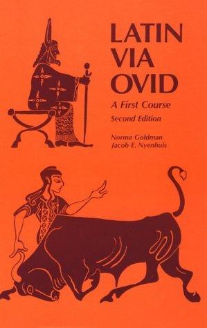 Latin Via Ovid: A First Course