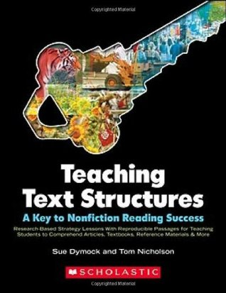 Teaching Text Structures A Key To Nonfiction Reading Success
