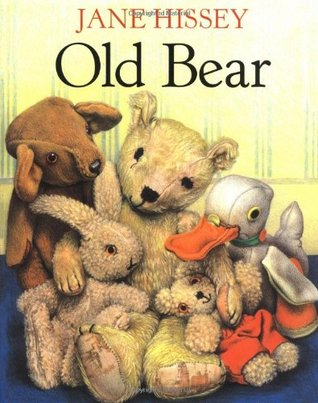 old bear by jane hissey