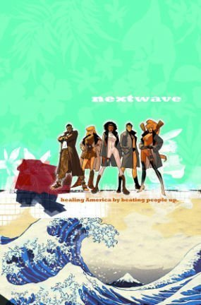 NextWave by Warren Ellis