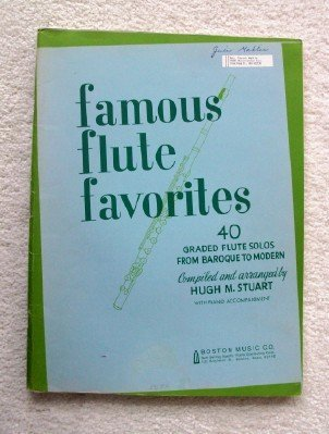 Famous Flute Favorites: 40 Graded Flute Solos From Baroque to Modern