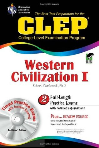 CLEP Western Civilization I w/ TestWare CD