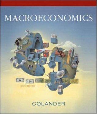 Macroeconomics By David Colander Pdf