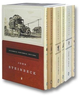The Steinbeck Centennial Collection: The Grapes of Wrath/Of Mice and Men/East of Eden/The Pearl/Cannery Row/Travels With Charley in Search of America